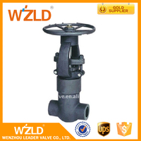 "WZLD China Price 3/8"" ASME B16.34 Pressure Sealed Globe Valve With Normal Temperature"