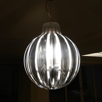 Modern Decorative Clear Muticolored Flower Luceplan Agave suspension light,M9016