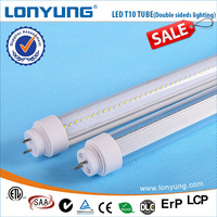 LED T10 Tube Dual-sided lighting 0.5m 0.7m 1.2m 1.5m 1.8m t10 5w5 canbus car led auto bulb