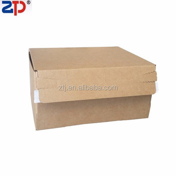 Corrugated cardboard mailer box self sealing box easy open