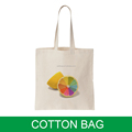 fashion style custom shopping tote bag cotton for teens