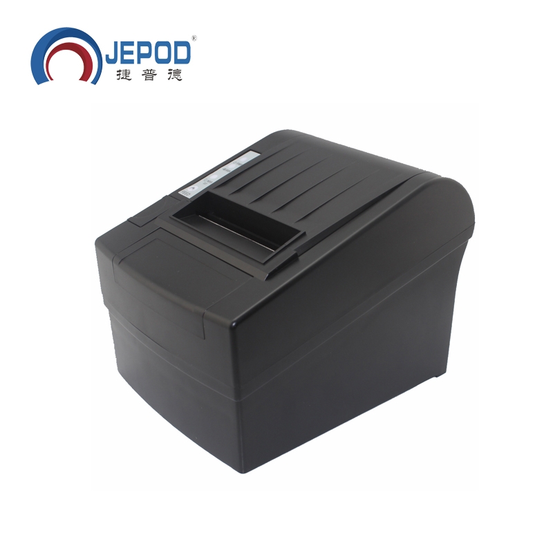 JEPOD JP-8006 USB+LAN+SERIAL auto cutter 80mm thermal receipt printer pos 80 printer thermal driver