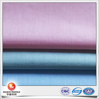 calender finish 100 cotton yarn dyed chambray shirting fabric