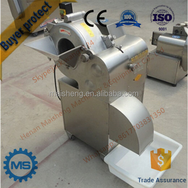 Good quality stainless steel automatic vegetable dicing machine