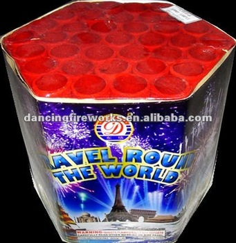 37 Shots multi-shot Cake Fireworks