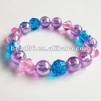 2015 ot acrylic bead bracelet loose bead factory direct bead