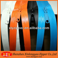 Wholesale colorful reflective tape nylon water resistant zipper