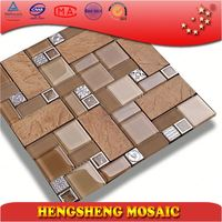 Living room wall mosaic floor tile decorative wallpaper for bar