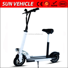 folding magnesium aluminum alloy frame scooter electric 500W 48V with lithium battery 10 inch wheel