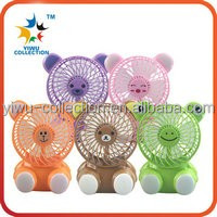 Mini ABS plastic stand fan outdoor portable pocket fan