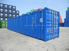45 ft High cube hard open top container with ISO standard CSC certificated