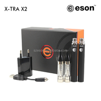 High quality gift box electric cigarette 450puff s Ego V2 wholesale wax vaporizer pen