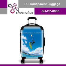 New Design Colorful Travelling hardside pc luggage