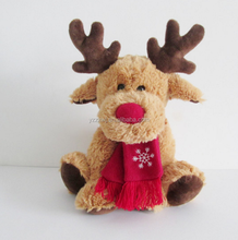 free sample christmas deer plush elk reindeer toys for kids christmas reindeer plush animated toys stuffed reindeer toys