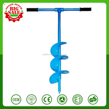 CHINA Earth Garden Soil Post Hole Fence Gate Manual Auger Drill Post Hole Digger Hand Tool Manual Hand Drill Digger Earth Auger