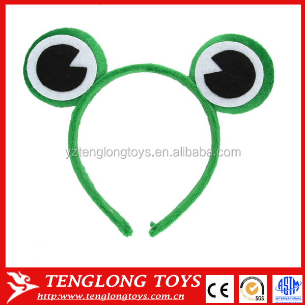 Easter day cute plush frog animal ear headband
