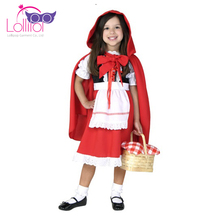 Carnival masquerade costumes girl little red riding hood costume child masquerade disguise costume