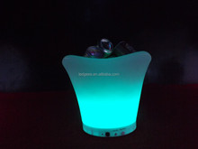 led illuminated ice wine bucket/modern illuminated drinks cooler