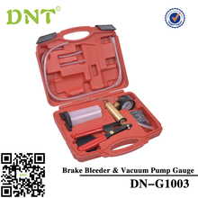 High quality Hand Held Vacuum Pump Brake Bleeder Tool Kit/manufacture for auto repair tool/china supplier