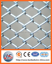 Galvanized Chain Link Fence / Playground Fences / School Fencing GS