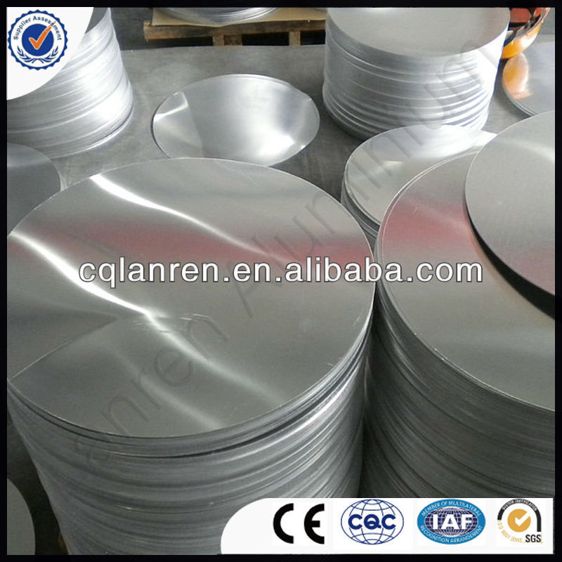 Aluminium Circle Sheet For Stainless Steel Back Water Resistant