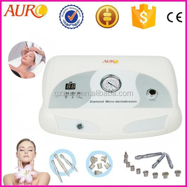 Portable salon beauty skin care diamond dermabrasion equipment/microdermabrasion skin peel machine Au-3012