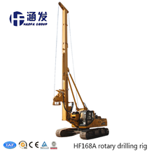 HF168A TOP foundation equipment hydraulic rotary drilling rig, best driving pile construction equipment