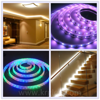 Flexible Waterproof programmable rgb led strip 100m led strip
