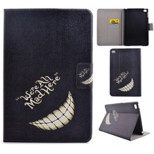 magnetic buckle pu leather folio case stand cover with card slot for ipad mini 4