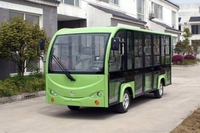 china small airport 14seats tourist electric suttle bus