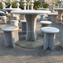 natural granite table sets,table and chairs,nature stone