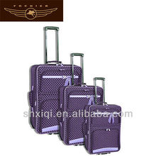 polka dot luggage wholesale for travel
