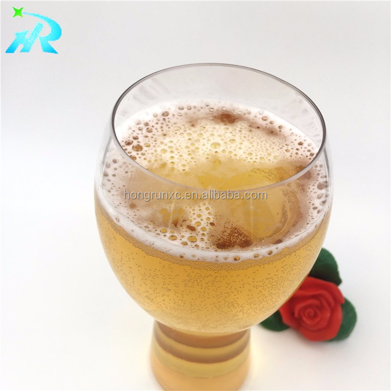Plastic LED flashing light up beer cups for bar or party