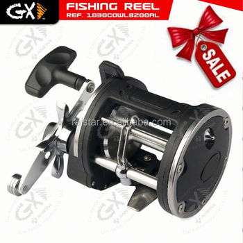 Jigging reel and trolling reel and garra rufa fish for sale