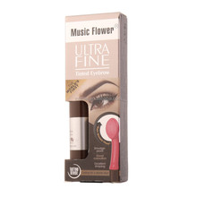 Music Flower Brand 4 Colours Black & Coffee Gel for Eyebrows Make Up New Arrival Smudge-proof Eyebrow Mascasra,guizhou