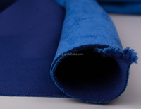 Polyester Spandex Knit Suede Scuba Fabric