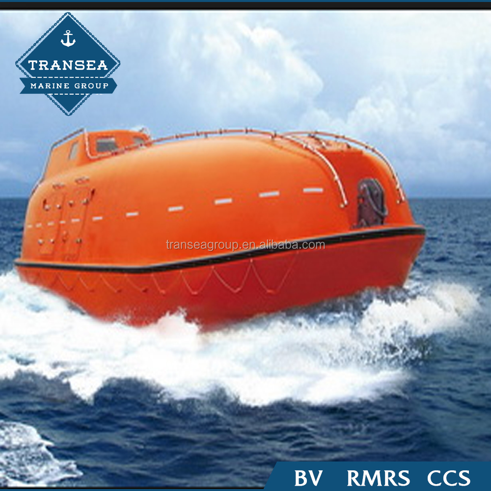 High quality 25 persons enclosed lifeboat for sale