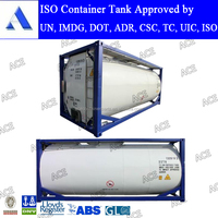 IMDG chemical 20ft iso fuel tank containers as per AMSE standard