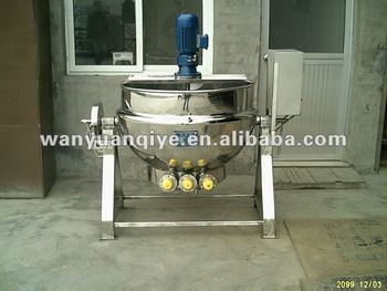 200L jacketed kettle