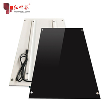 500W Glass Electric Far Infrared Heating Panels Can Touch LED Screen <strong>Heaters</strong> for room