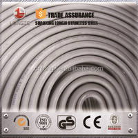 Heat exchanger stainless steel coil tubing