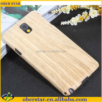 wooden design cell phone case cover for Samsung galaxy note3