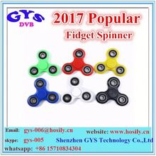 Tri Fidget Spinner Toy With LED Lights Hand Spinner With ABS Bearing Finger Spinner