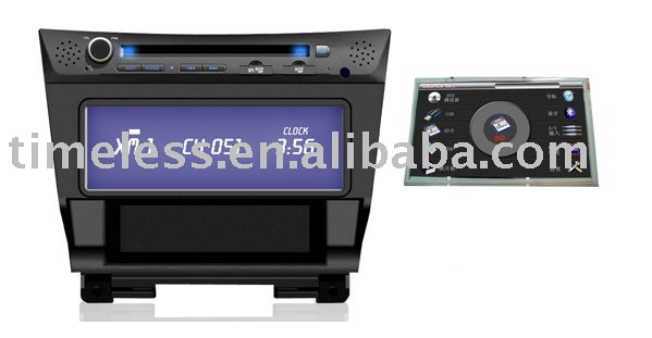 Special car dvd player for HONDA ACCORD 8 with digital panel, dual zone, GPS