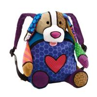 pop colorful chewy plush dog bag