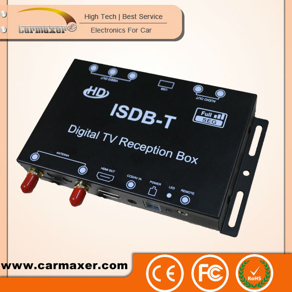 Car ISDB-T hi-tech HD 2017 hd digital satellite receiver mpeg4 for South America