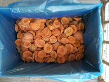 New crop natural yellow grade A frozen diced apricot half high quality