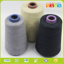 Colorful and good quality Melange Cotton Yarn for knitting