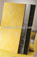 Heat resistant insulation glass wool boards - GlassRock