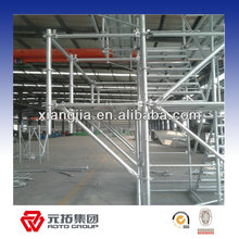 2014 New design China Manufacturer Quick Erecting Electroplate Galvanized Scaffold Ringlock System